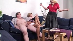 Granny and Teen Quota Cock